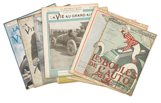 La Vie au Grand Air; eight loose issues for 1904,   ((9))