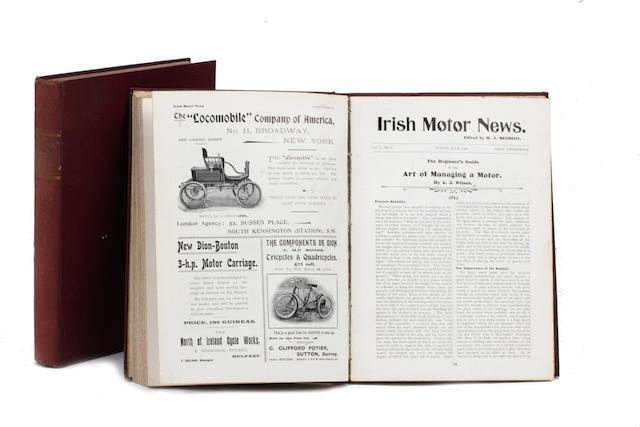The Irish Motor News/Motor News, 1900-1901,  ((2))
