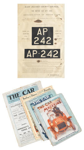 The Car Illustrated, Volume 1 Number 1, May 28th 1902,  ((5))