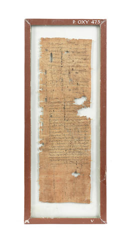 Two Egyptian fragmentary papyri from Oxyrhynchus 2