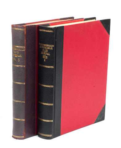 Automobile Club Journal; two bound Volumes for 1905,   ((2))