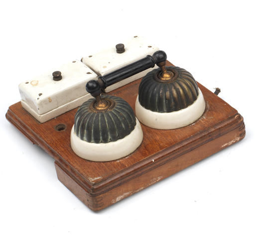 A pair of linked 'Jelly mould' light switches,