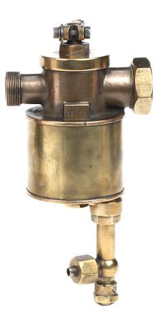 A De Dion Bouton bronze carburettor,