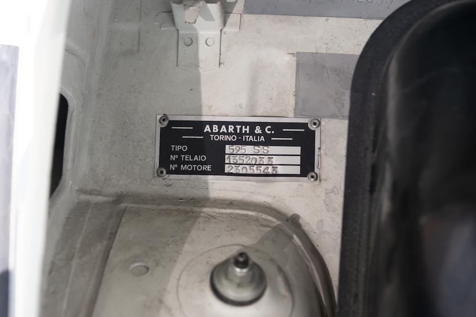 1967 Fiat-Abarth  595 SS Sports Saloon  Chassis no. 1352033/1882