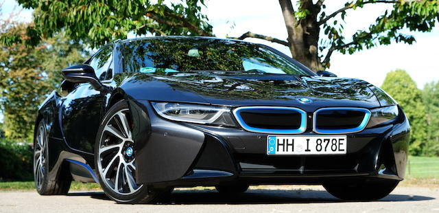 2014 BMW  i8 Coupé  Chassis no. WBY2Z21020V3453332