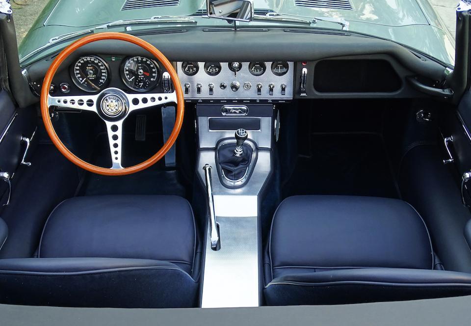 1961  Jaguar  E-Type 'Series 1' 'Flat Floor' 3.8-Litre   Chassis no. 875607