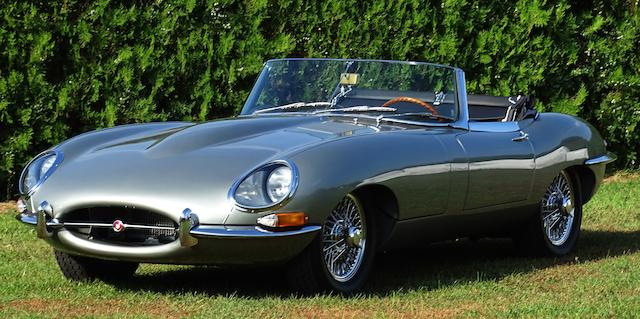 1961  Jaguar  E-Type 'Series 1' 'Flat Floor' 3.8-Litre   Chassis no. 875607