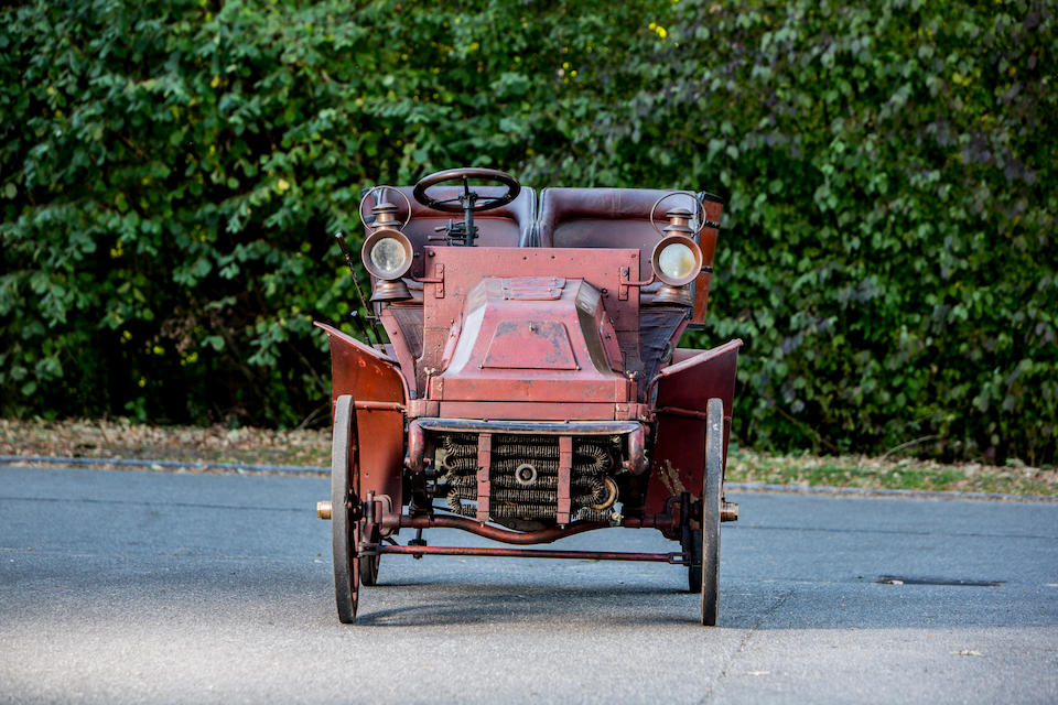 c.1902 Liberia-Dupont 12hp Twin Cylinder Two/Four Seater Detachable Tonneau  Chassis no. 183 Engine no. 4885