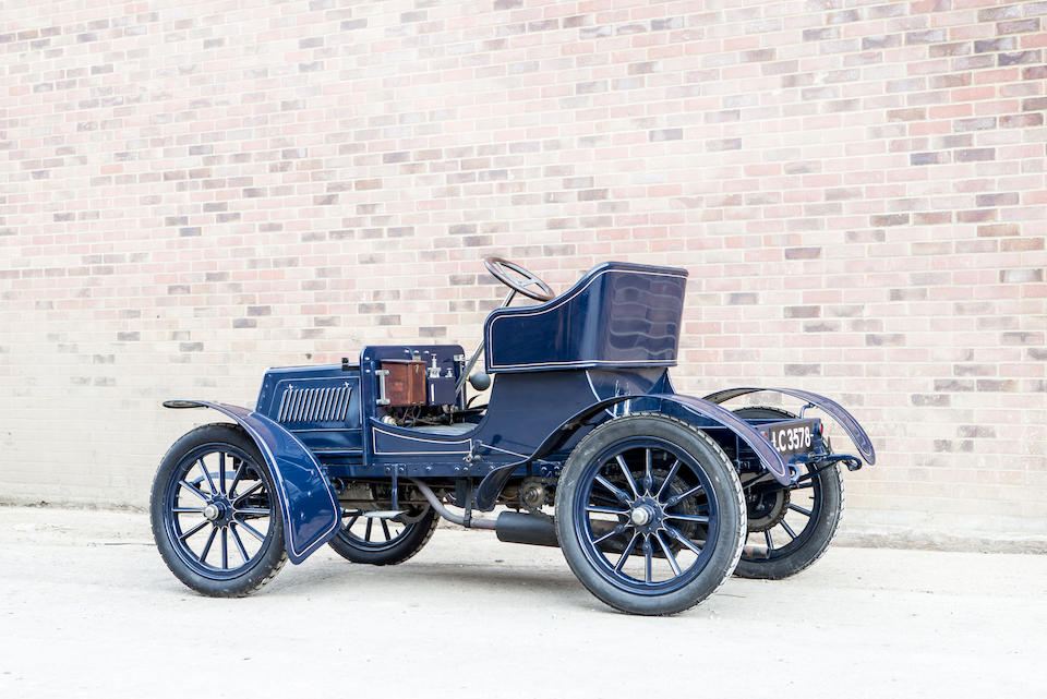 1904 Star 7hp Twin-cylinder Two-seater  Chassis no. 1064