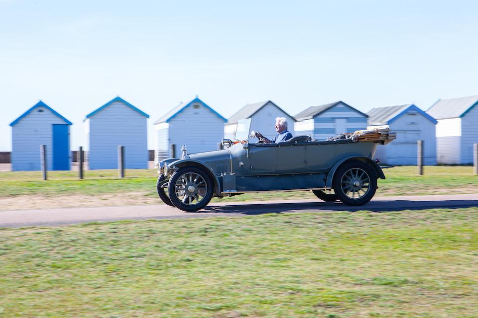 1913 Sunbeam 12/16hp Tourer  Chassis no. 6525