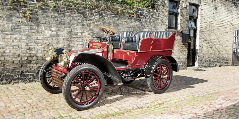 1901 Schaudel 10hp Four-seat Rear-entrance Tonneau  Chassis no. 2