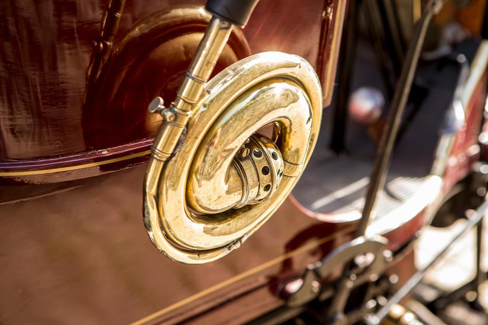 1901 Schaudel 10hp Four-seat Rear-entrance Tonneau  Chassis no. 2