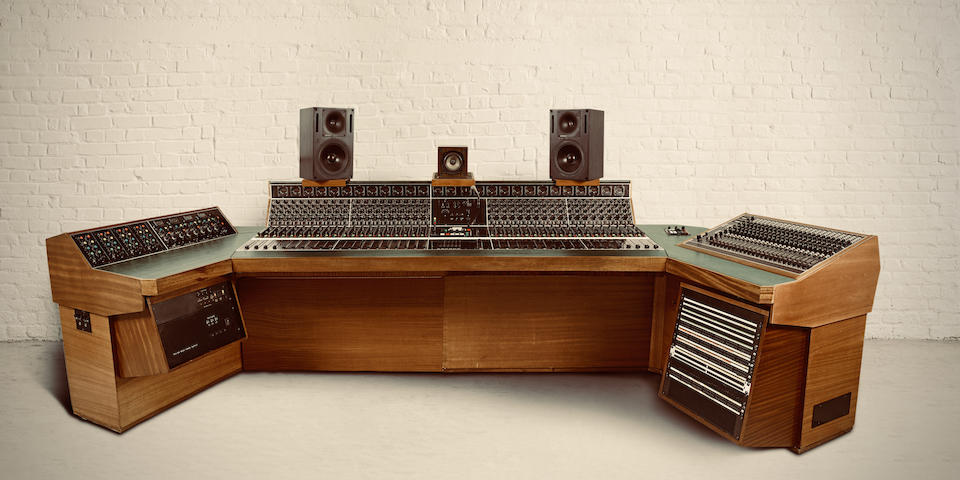 """The HeliosCentric Helios console: Constructed in 1996 through an amalgamation of part of the Island Records Basing Street Studio 2 Helios Console (1970-1974) used by artists such as; Led Zeppelin to record their 'Album IV' which includes the timeless hit """"Stairway To Heaven"""", and Bob Marley & The Wailers to record the albums 'Burnin' and 'Catch a Fire'; with the other part being from Alvin Lee's Helios console from Space Studios (1973-1979); with the final construction installed at HeliosCentric Studios (1996-present),"""