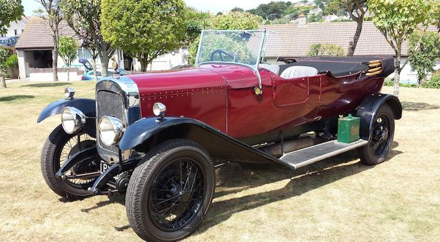 1922 Austin 20hp Tourer   Chassis no. PCH597