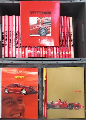 FERRARISSIMA; FIRST SERIES VOLUMES 1-25,   ((34))