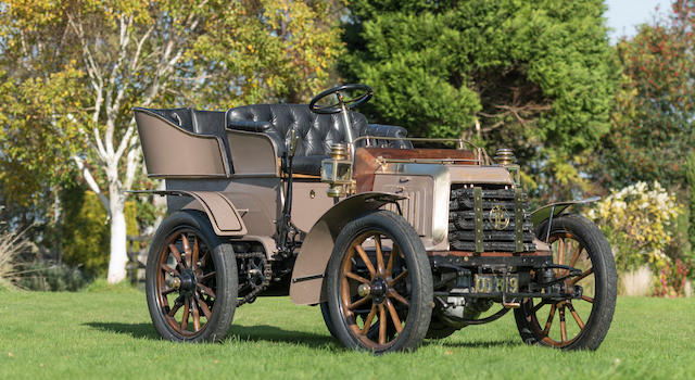 1902 Panhard-Levassor 1902 Panhard-Levassor Chassis no. 3155