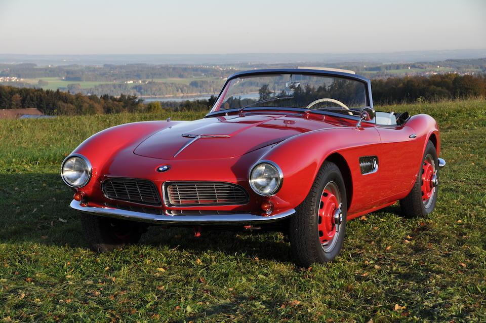 Formerly owned by Count Albrecht Graf von Goertz, designer of the BMW 507,1958 BMW 507 3.2-Litre Series II Roadster