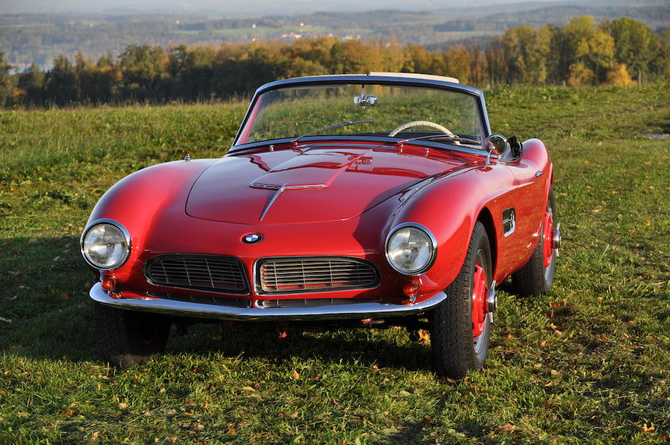 Formerly owned by Count Albrecht Graf von Goertz, designer of the BMW 507,1958 BMW 507 3.2-Litre Series II Roadster