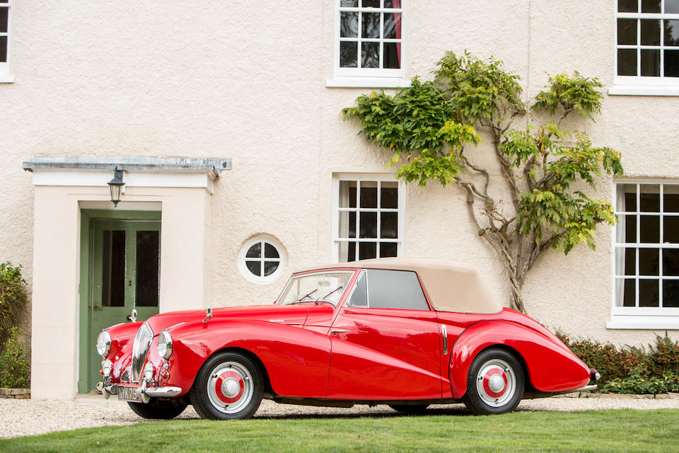 1953 Healey Abbott Drophead Coupé  Chassis no. F3068