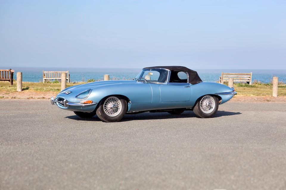 1961 Jaguar E-Type 'Series 1' 3.8-Litre 'Flat Floor' Roadster  Chassis no. 850164