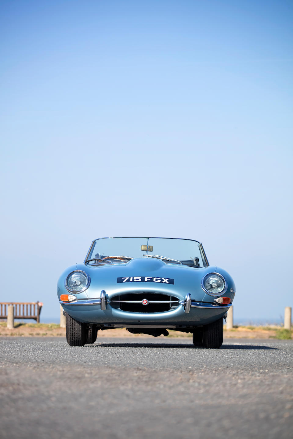 1961 Jaguar E-Type 'Series 1' 3.8-Litre 'Flat Floor' Roadster  Chassis no. 850164
