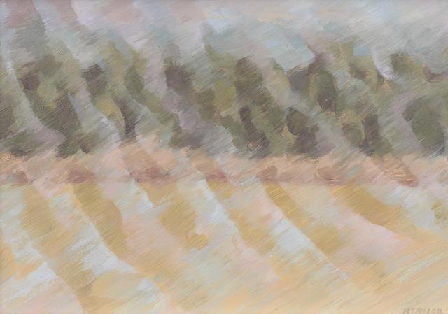 Howard Taylor (1918-2001) Rain Storm across the Paddock, 1976