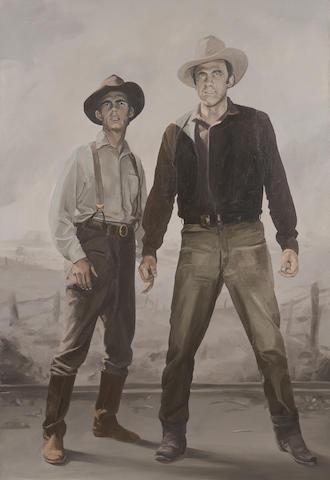 Stephen Bush (born 1958) Farm Hands, 1987
