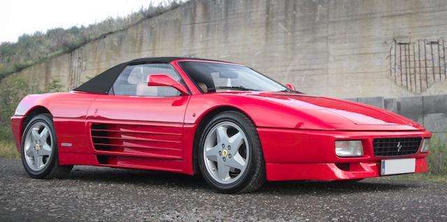 Bonhams 1995 Ferrari 348 Spider Chassis No Zffua438000097871