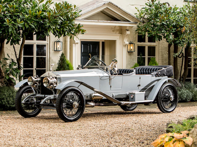 Originally owned by Mrs W K Vanderbilt,1921 Rolls-Royce 40/50hp Silver Ghost 'London-to-Edinburgh' Tourer  Chassis no. 48CE