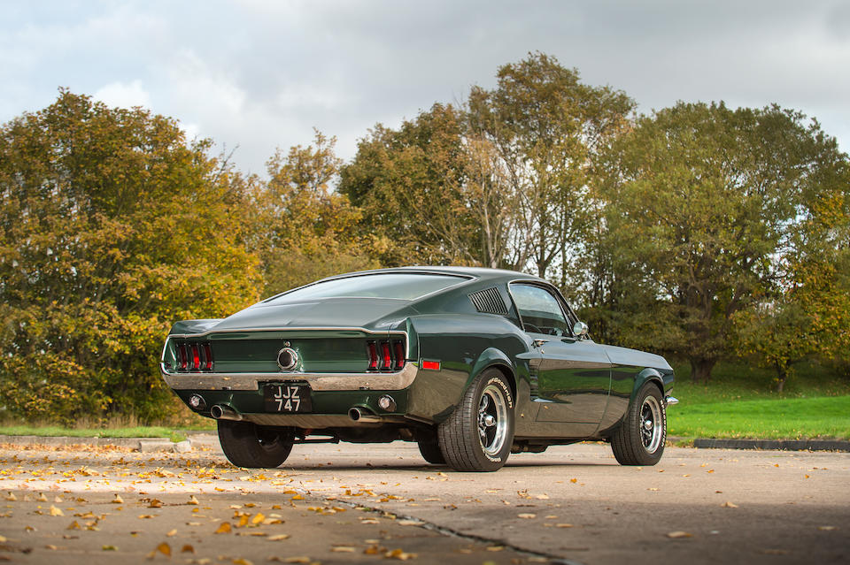 1967 Ford Mustang 'Bullitt' Fastback Coupé  Chassis no. 7R02S108099