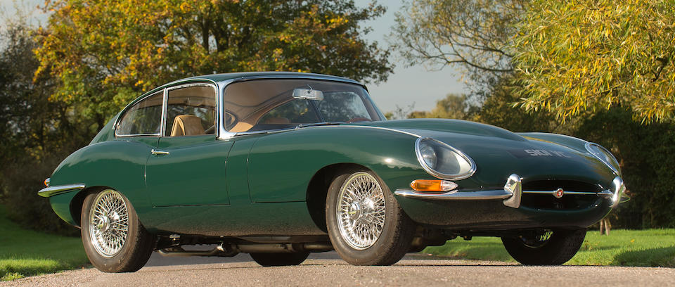 1962 Jaguar E-Type 'Series 1' 3.8-Litre Coupé  Chassis no. 886967