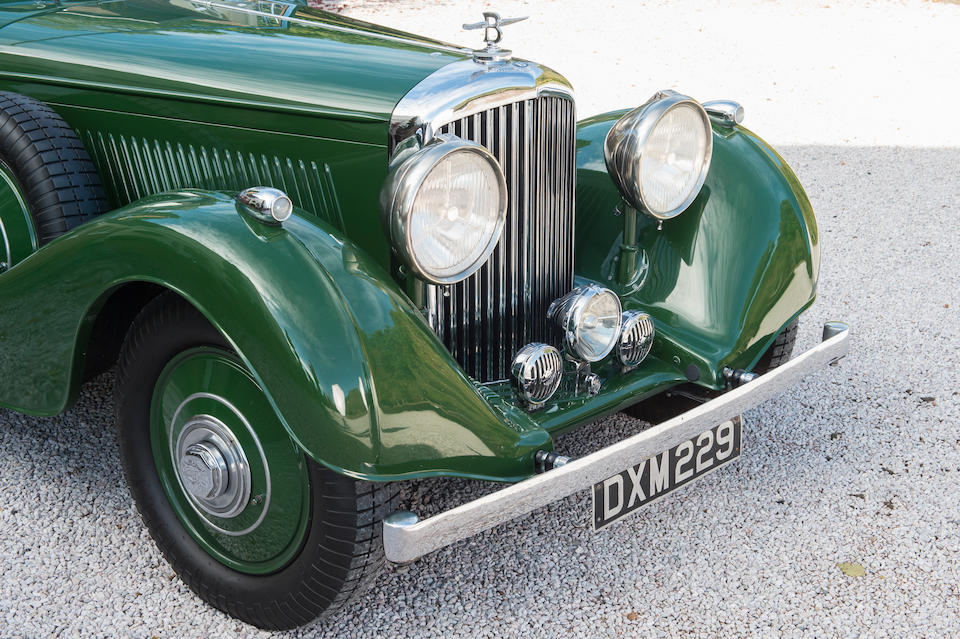 1937 Bentley 4¼-Litre All-weather Tourer  Chassis no. B179JY
