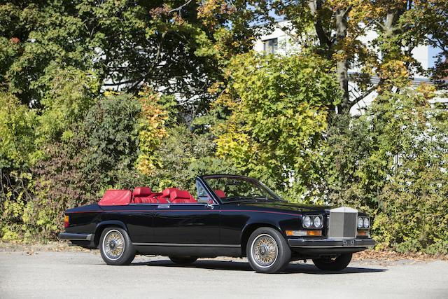 Image result for bonhams 2019 1985 Rolls-Royce Camargue Cabriolet