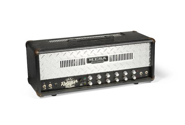 Ken (K.K.) Downing/Judas Priest: A Mesa-Boogie Solo Dual Rectifier amplifier, circa 1997,