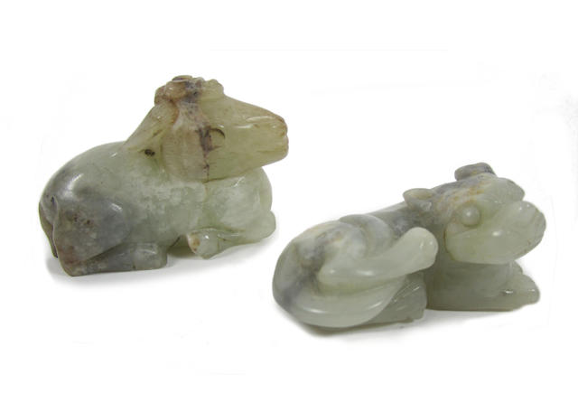 Two jade carvings (2)