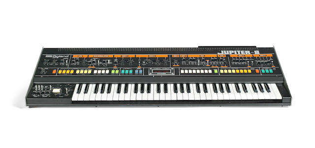Depeche Mode / Alan Wilder: A stage and studio used Roland Jupiter 8 synthesier, 1982-1984,