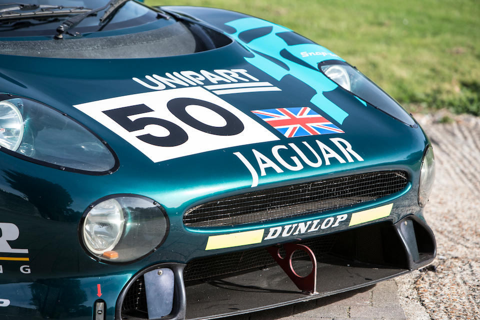 The Ex-David Coulthard/David Brabham/John Nielsen Le Mans 24-Hour race, GT class-winning, 1993 Jaguar XJ220C COMPETITION COUPE
