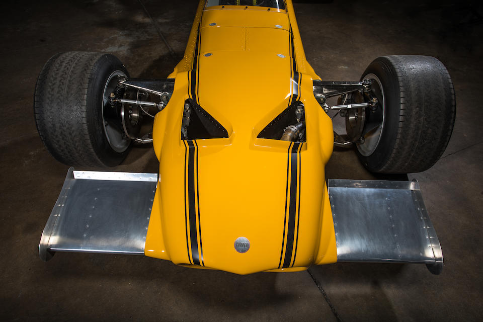 The Cooper Car Co's Last-Built Single-Seater, the Ex-Peter Rehl Daytona Road Race of Champions-winning,1969 Cooper-Chevrolet T90 Formula A/5000 Racing Single-Seater  Chassis no. F1C/3/69