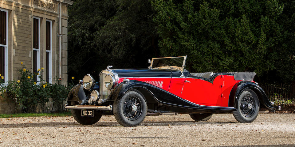 1939 Bentley 4¼-Litre Tourer  Chassis no. B-7-MX