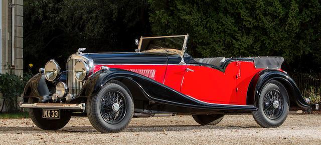 1939 Bentley 4¼-Litre Tourer  Chassis no. B-7-MX