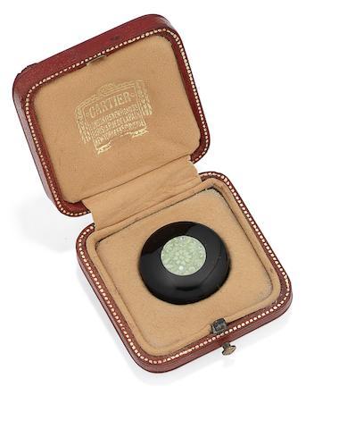 A pill box, by Cartier,