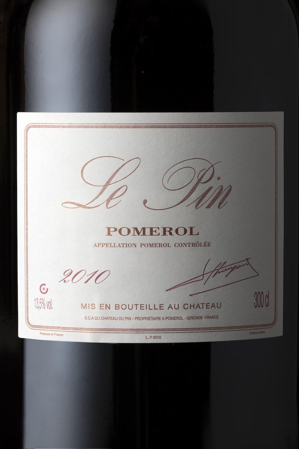 Le Pin 2010, Pomerol (1 double-magnum)