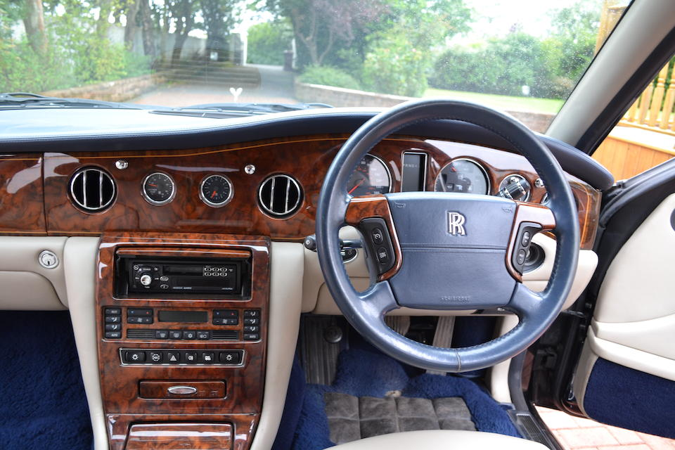 Originally owned by Lord Sugar,1998 Rolls-Royce Silver Seraph  Chassis no. SCALA61E4XCH02042