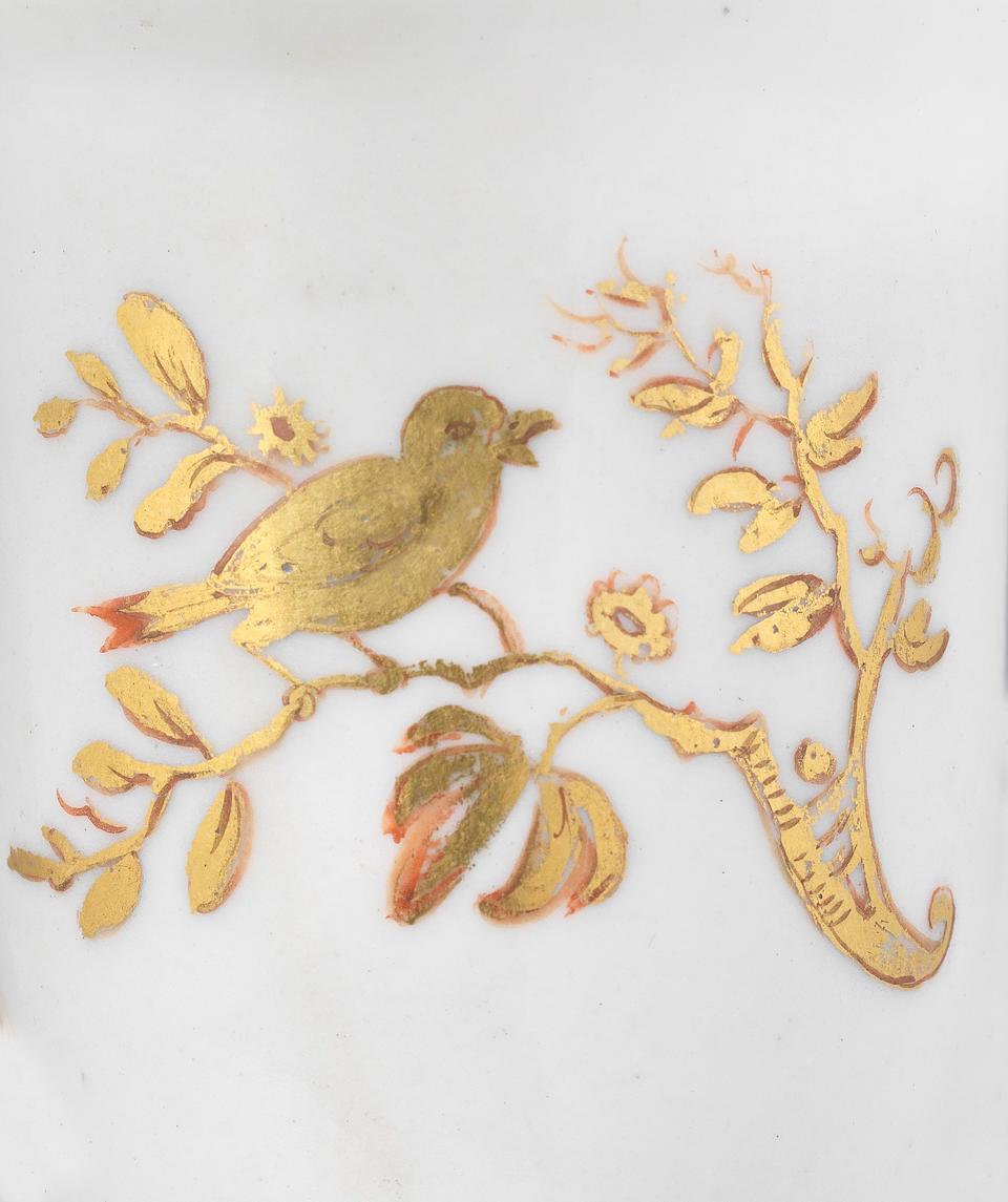 A very rare early Meissen beaker, circa 1715-20