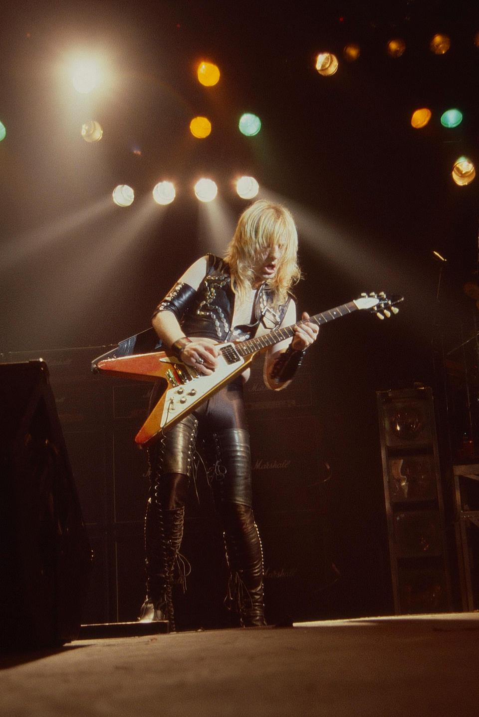 Ken (K.K.) Downing/Judas Priest: A Gibson Flying V guitar, 1967,