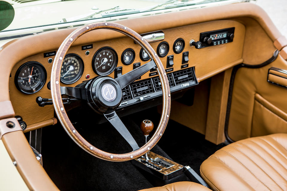 First owned by Dean Martin,1973 Excalibur Series II Roadster  Chassis no. 19731214