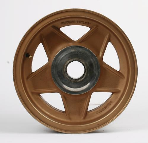 A set of four Ferrari Daytona Cromodora alloy wheels,   ((4))