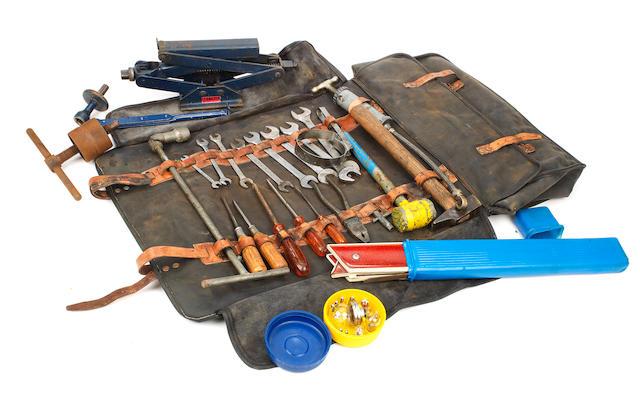 A complete toolkit for a Ferrari 275 GTB,