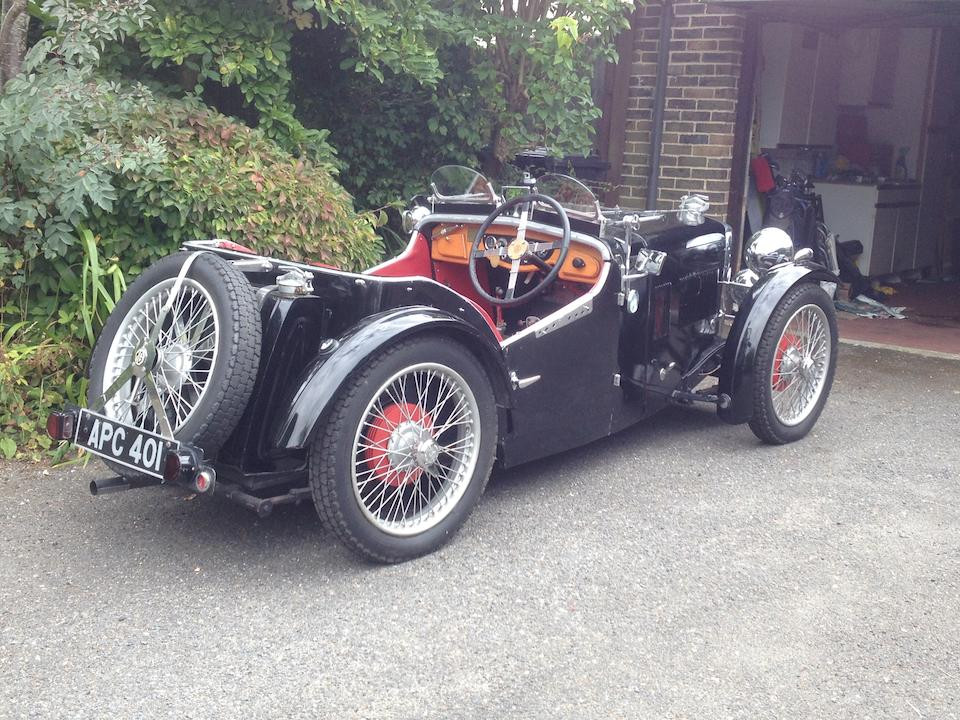1933 MG Midget J1 Special Sports  Chassis no. 0490 BK