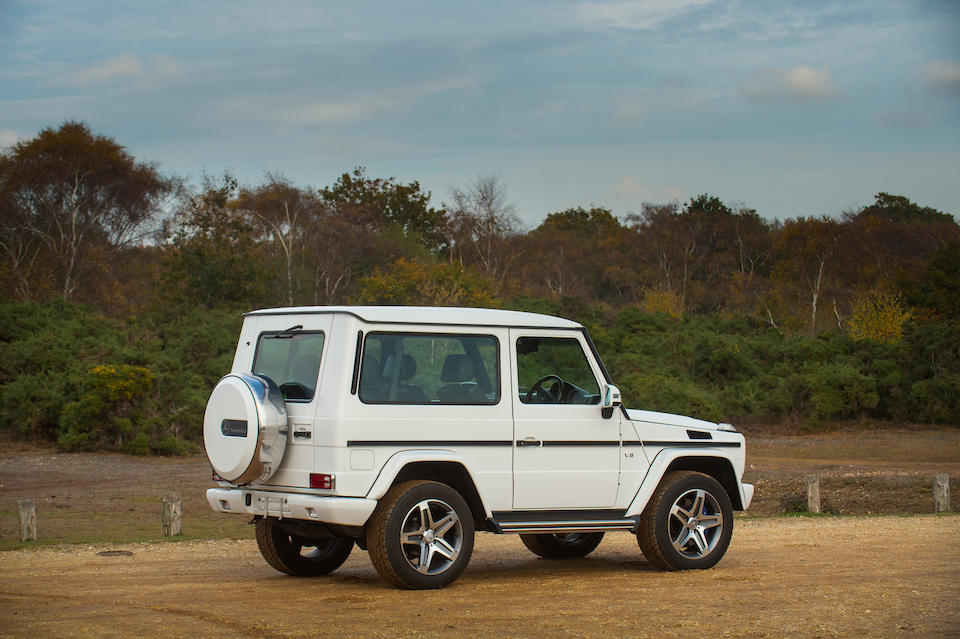2001 Mercedes-Benz G500 V8 Short-Wheelbase 4x4 Utility  Chassis no. WDB4632402X122153